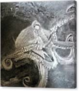 My Friend The Octopus Canvas Print
