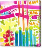 My Garden Path Canvas Print