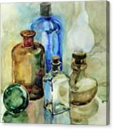 My Glass Collection II Canvas Print