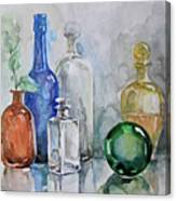 My Glass Collection IIi Canvas Print