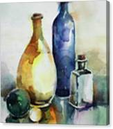 My Glass Collection Iv Canvas Print
