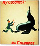 My Goodness My Guinness 1 Canvas Print