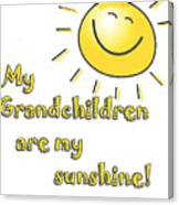 My Grand Children Canvas Print