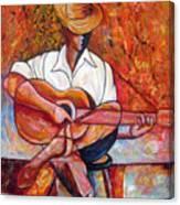 My Guitar Canvas Print