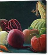 My Harvest Vegetables Canvas Print
