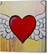 My Heart Has Wings Canvas Print