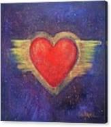 My Heart My Strength Canvas Print