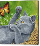 My Kitty Canvas Print