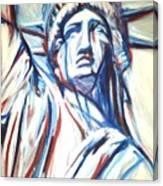 My Lady Liberty  Canvas Print