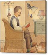 My Lamp Canvas Print