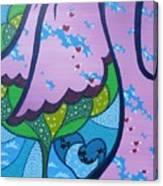 My Little Hippie Canvas Print