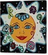 My Little Sunshine Canvas Print