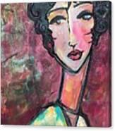 My Love Lies In Venezia Canvas Print