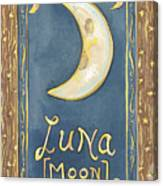 My Luna Canvas Print