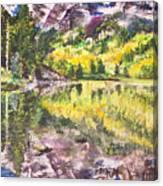My Maroon Bells Canvas Print