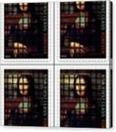 My Mona Lisa Weave  4 Canvas Print