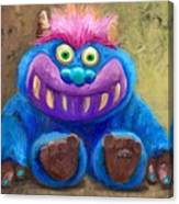 My Monster Friend Canvas Print