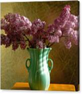 My Mother's Lilacs Canvas Print