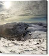 My Mountain Kitchen Canvas Print
