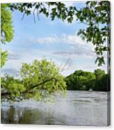 My Place By The River Canvas Print