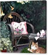 My Secret Garden Canvas Print