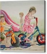 My Sisters Grandkids Canvas Print