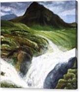 My Skogafoss Canvas Print