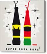 My Super Soda Pops No-01 Canvas Print