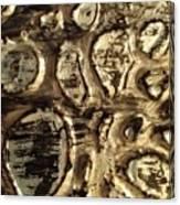 My Textured Stones F Canvas Print