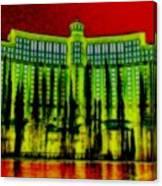 My Vegas Bellagio 5 Canvas Print