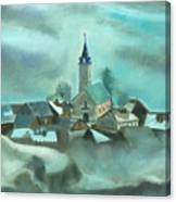 My Village Canvas Print