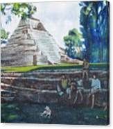 Myan Temple Canvas Print