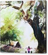 Myanmar Custom_03 Canvas Print