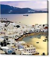 Mykonos Greece Canvas Print
