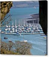 Mylor Marina Canvas Print