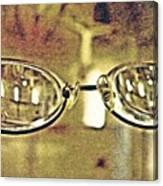Myopia At The Museum Canvas Print