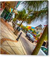 Myrtle Beach Shopping Canvas Print