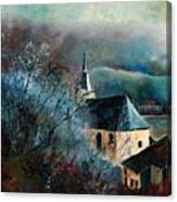 Mysterious Chapel Canvas Print
