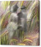 Mysterious Couple Canvas Print