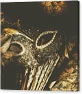 Mysterious Disguise Canvas Print