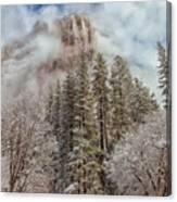 Mysterious El Capitan Canvas Print
