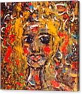 Mysterious Eyes Canvas Print