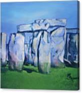 Mysterious Monoliths Canvas Print