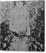 Mystery Lady Canvas Print