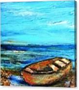 Mystery Landing Canvas Print