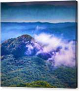 Mystery Of Looking Glass Rock Canvas Print