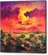 Mystery Of The Desert Canvas Print