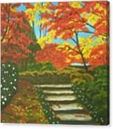 Mystery Walk Canvas Print