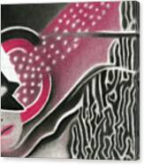 Mystery Woman Canvas Print