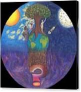 Mystery World Canvas Print